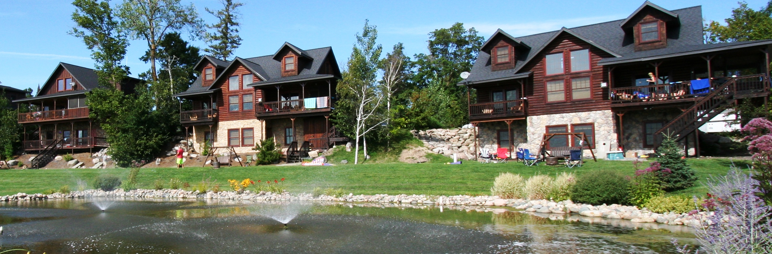 t lutsen cabins vacation mn minnesota rentals com lakeplace lake cabin on cabinrentals caribou